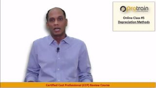 CCP Review Course: Online Class on solving Depreciation Problems